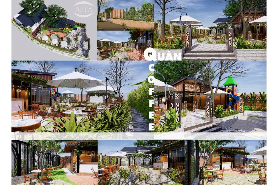 AFTA Thiết Kế Quán Cafe Đà Nẵng Đẹp 7