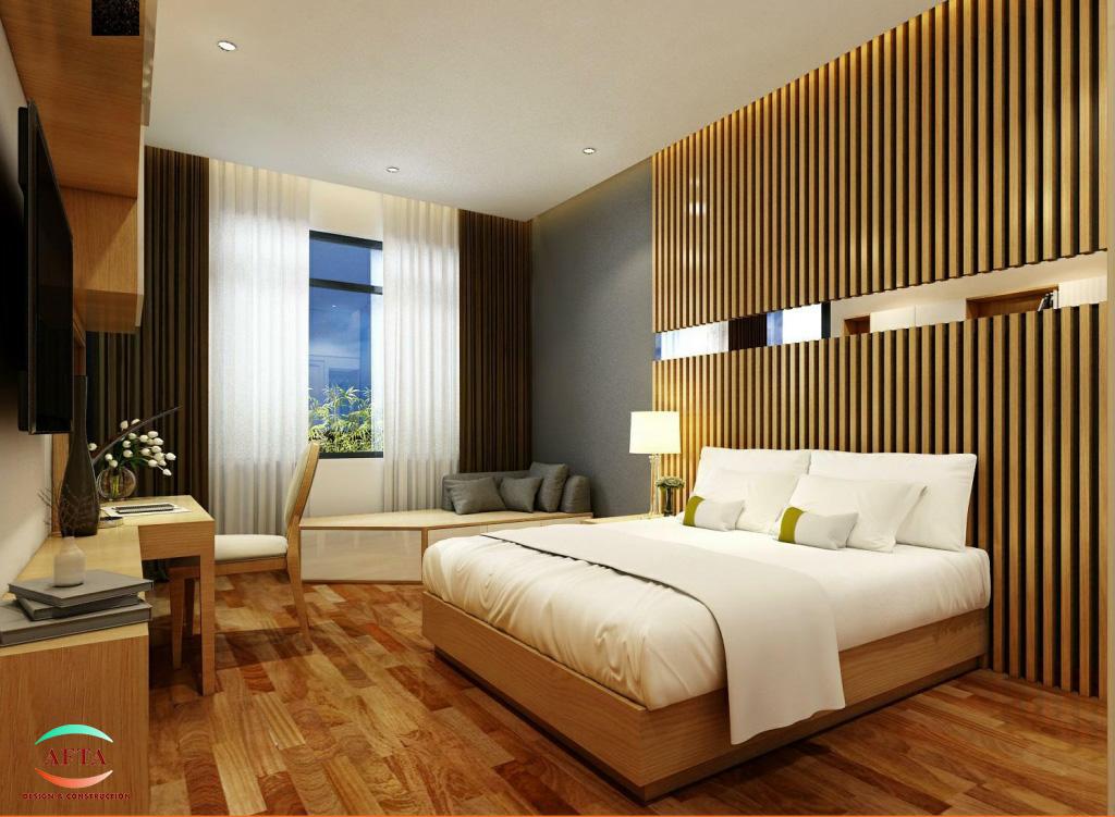 Thiết kế nội thất phòng ngủ khách sạn Đà Nẵng