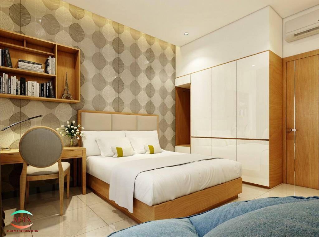Thiết kế nội thất phòng đơn khách sạn Đà Nẵng