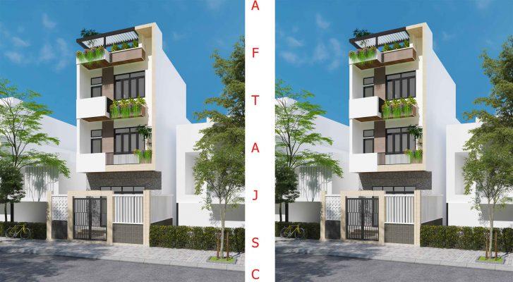 Nhà 3 Tầng Tiết Kiệm - AFTA Thiết Kế Nhà Đà Nẵng 2