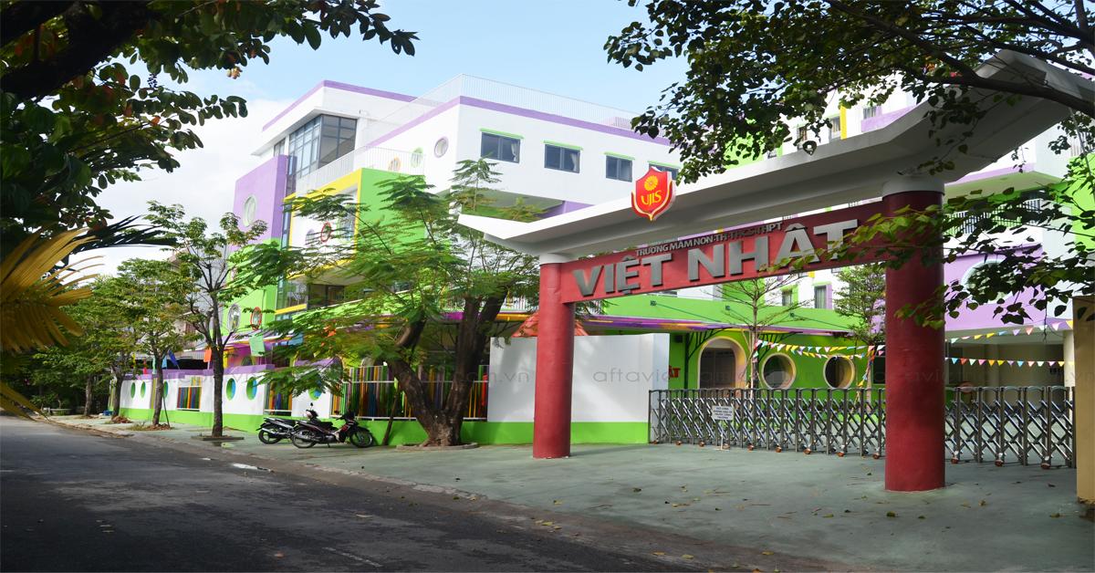 Thi Công Trường Liên Cấp Việt Nhật Afta 2