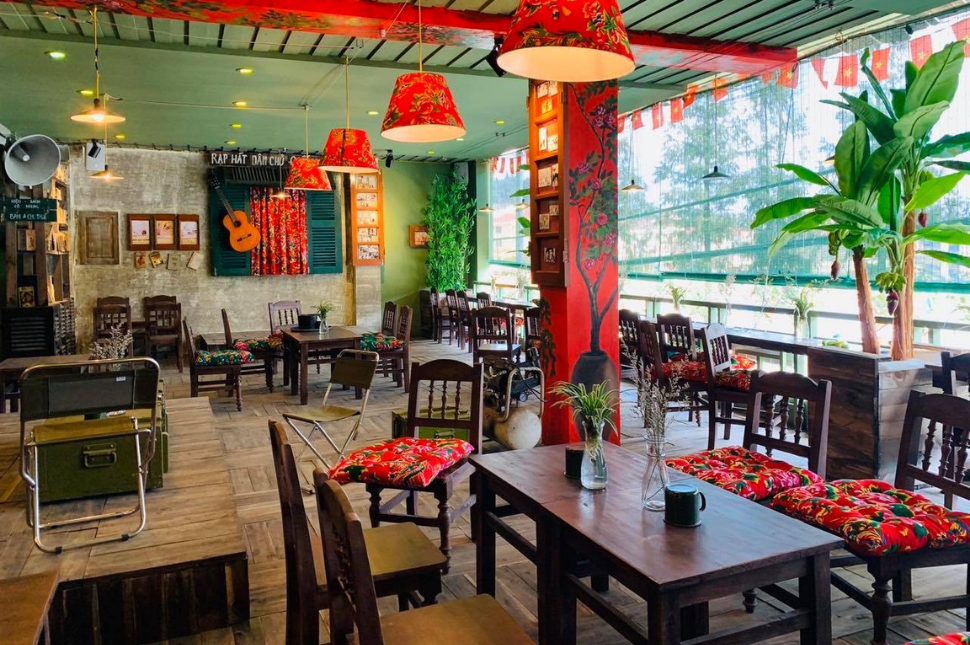 Thiết Kế Quán Cafe Cóc Đẹp 7