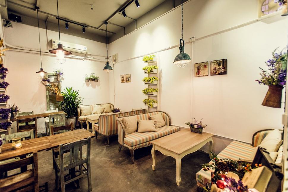 Thiết Kế Quán Cafe Nhỏ Đẹp Giá Rẻ 5