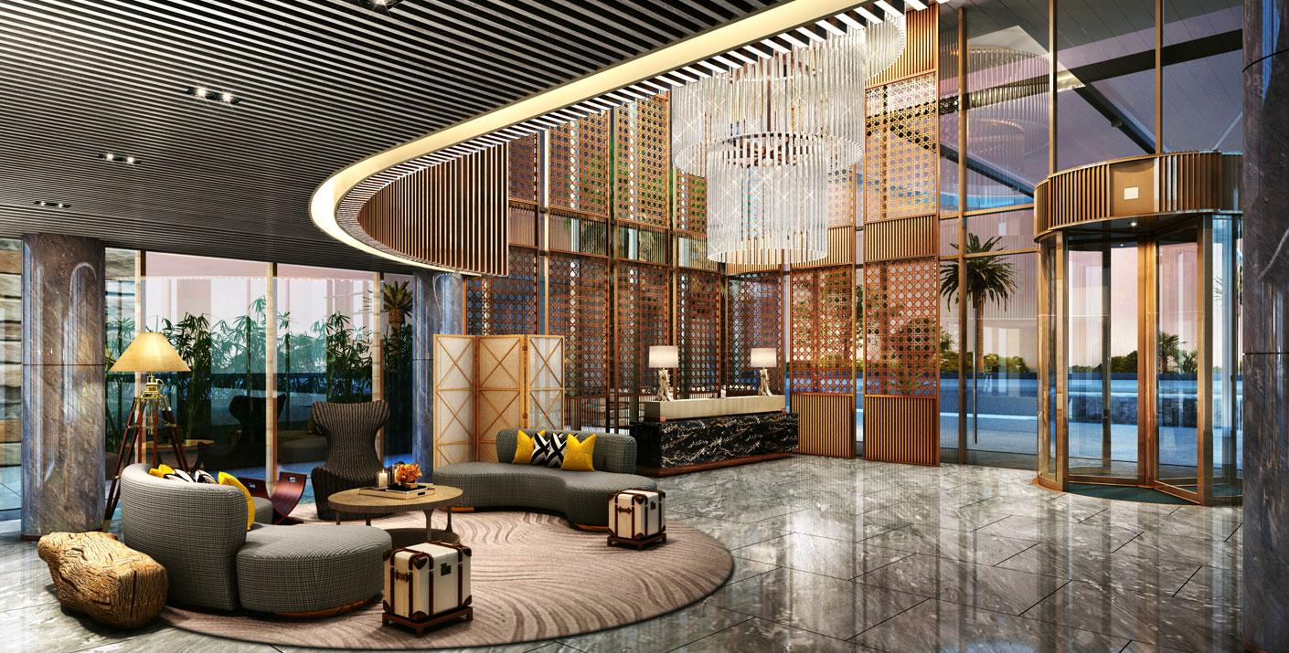 Không gian bên trong của khách sạn