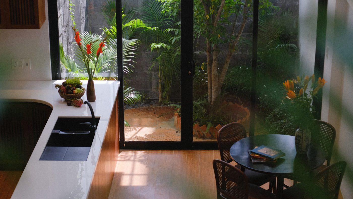 Mẫu sân vườn thiết kế nhà ống Đà Nẵng