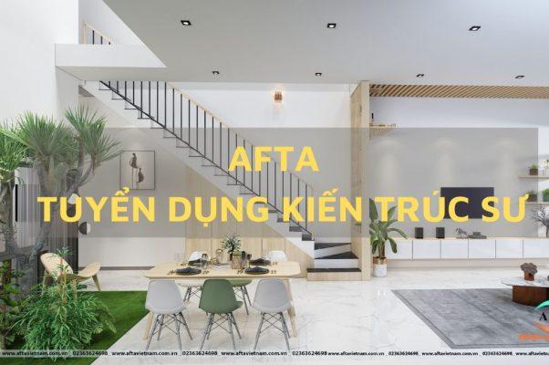 Afa tuyển dụng kiến trúc Đà Nẵng