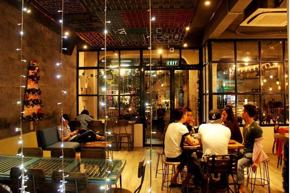 Cách trang trí quán cà phê đơn giản