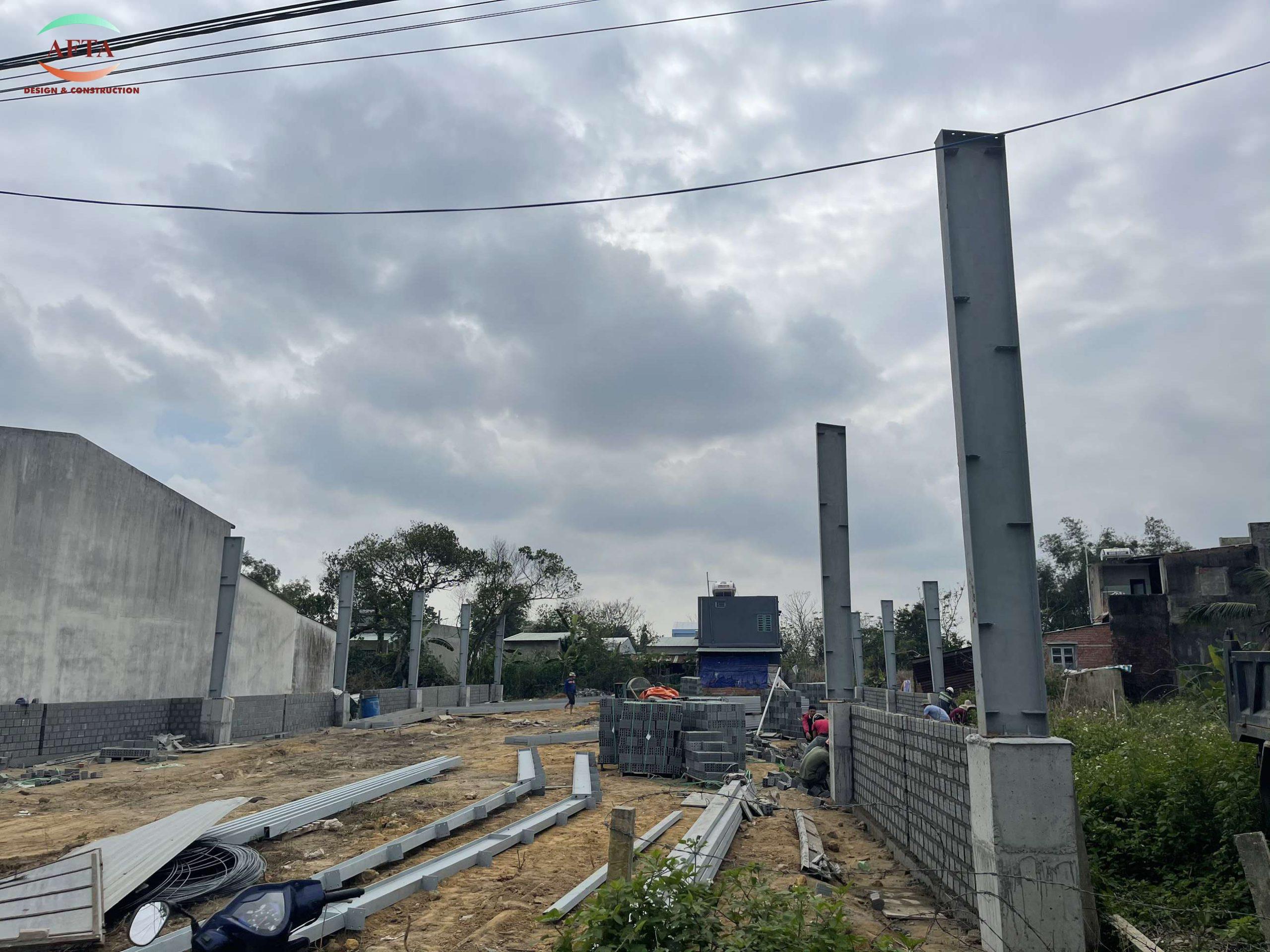 Afta thi công nhà xưởng làm nội thất tại Đà Nẵng