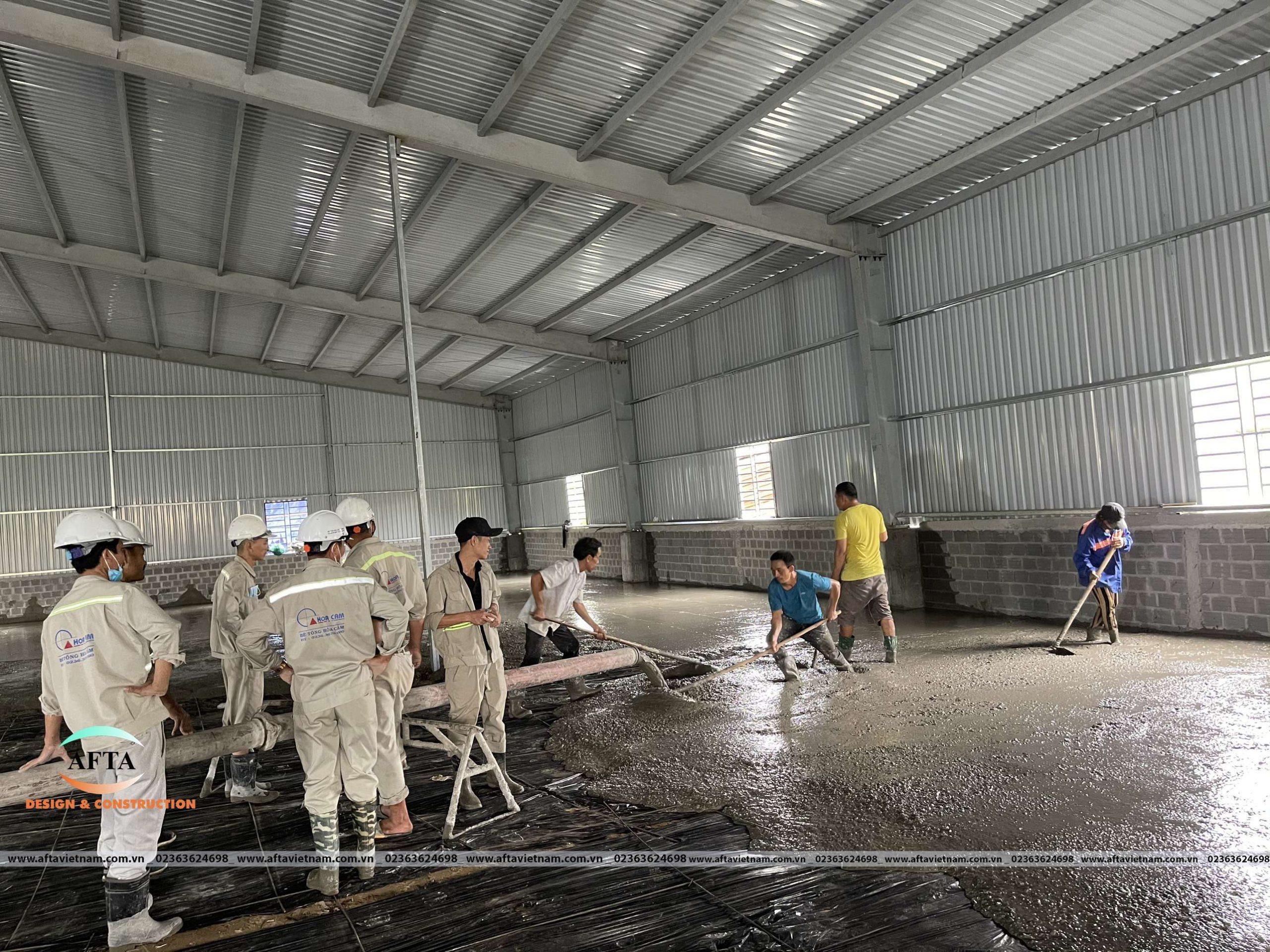 Afta thi công nhà xưởng làm nội thất tại Đà Nẵng 4