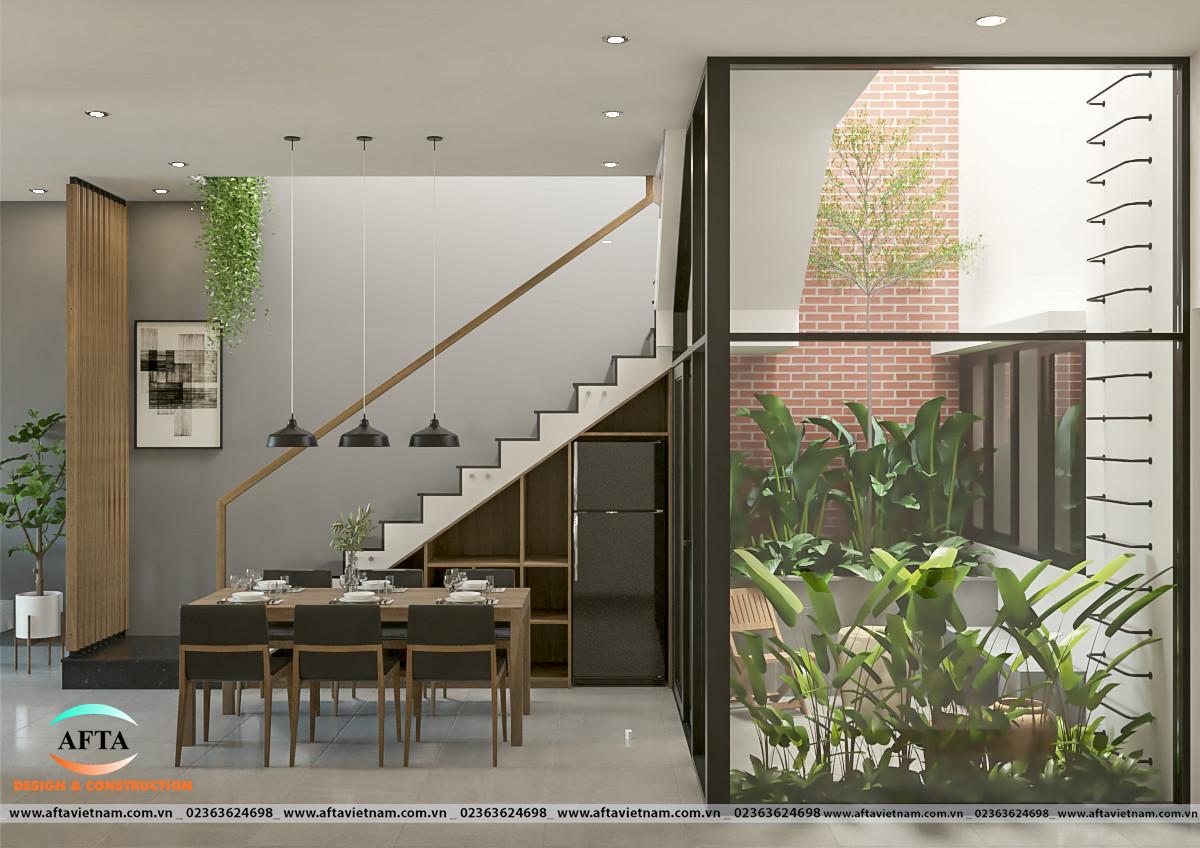 Mẫu thiết kế nhà ống 2 tầng 3 phòng ngủ 2