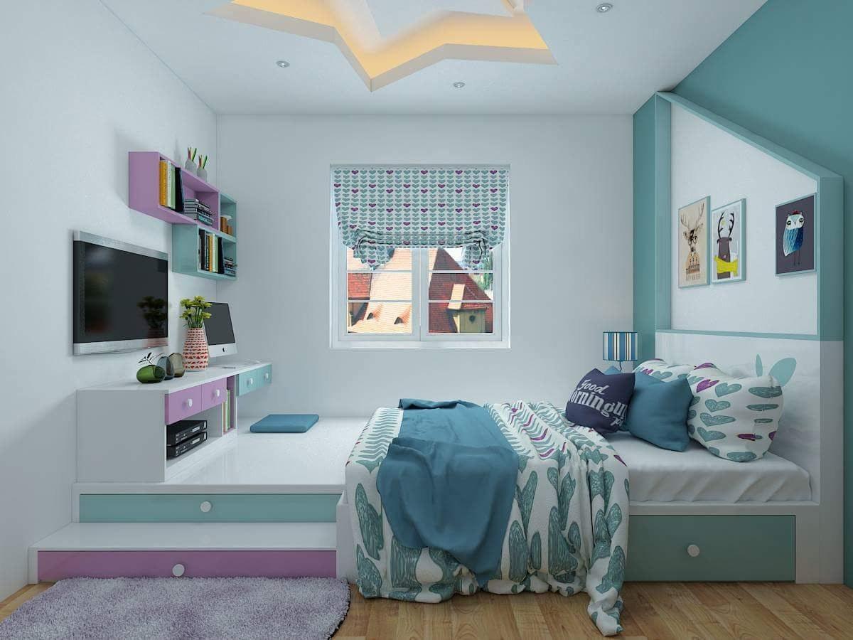 nội thất phòng ngủ 12m2