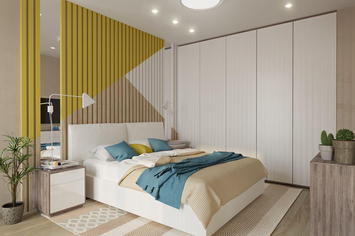 Thiết kế nội thất phòng ngủ 14m2