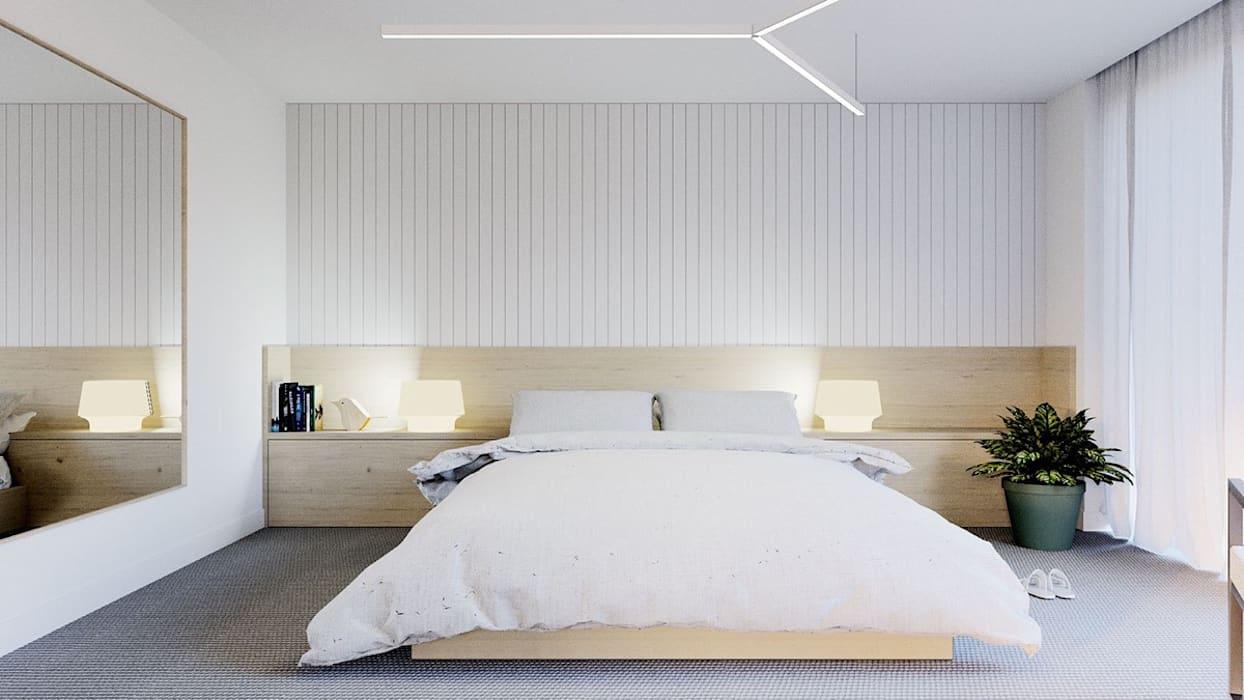 Mẫu nội thất phòng ngủ đơn giản
