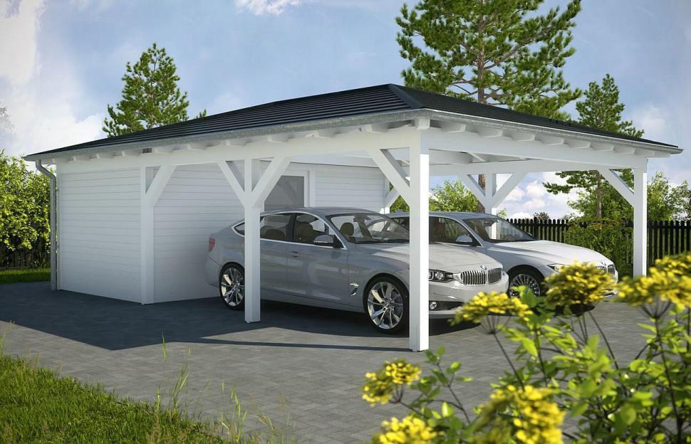 mẫu nhà để xe ô tô đẹp