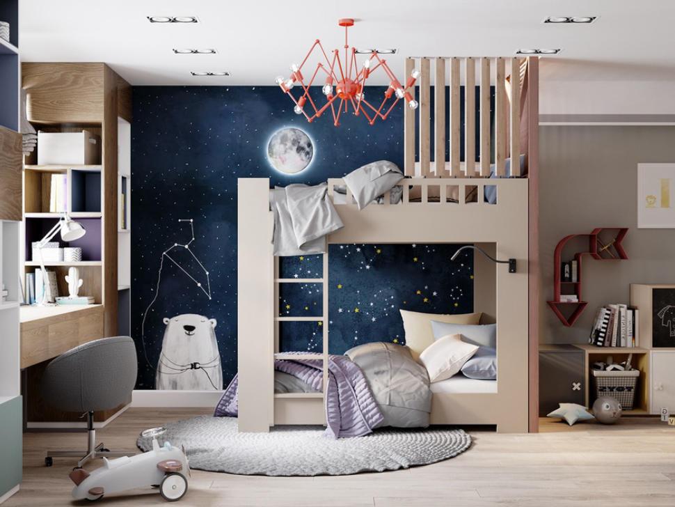 nội thất phòng ngủ cho bé trai