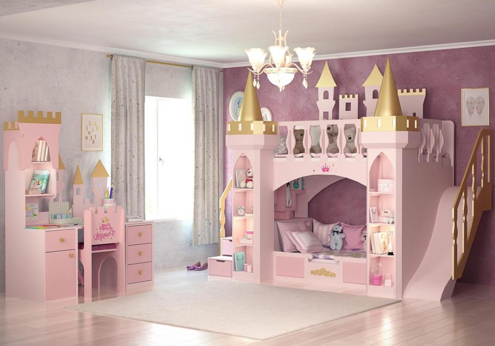 nội thất phòng ngủ bé gái