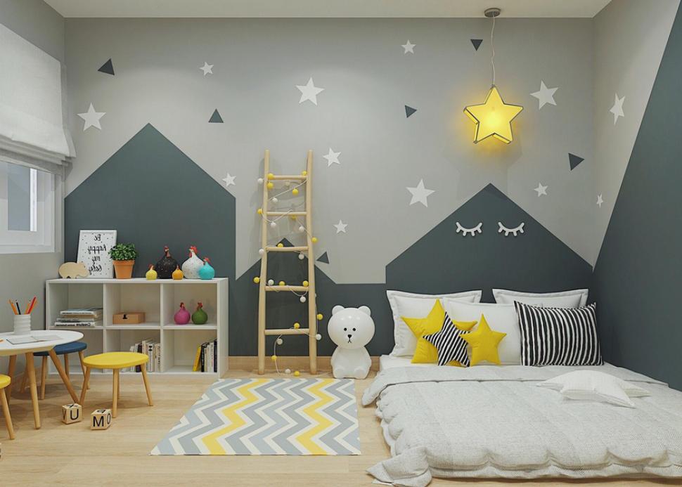 nội thất phòng ngủ bé trai