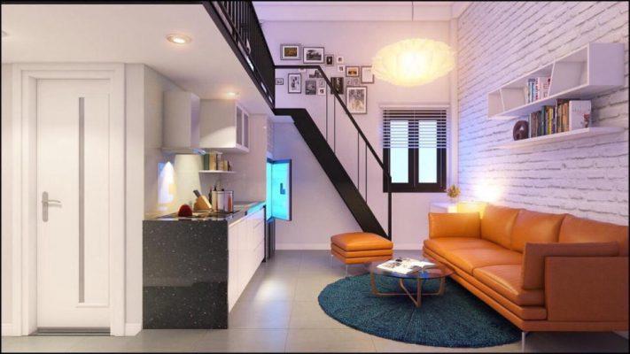 xây căn hộ mini cho thuê
