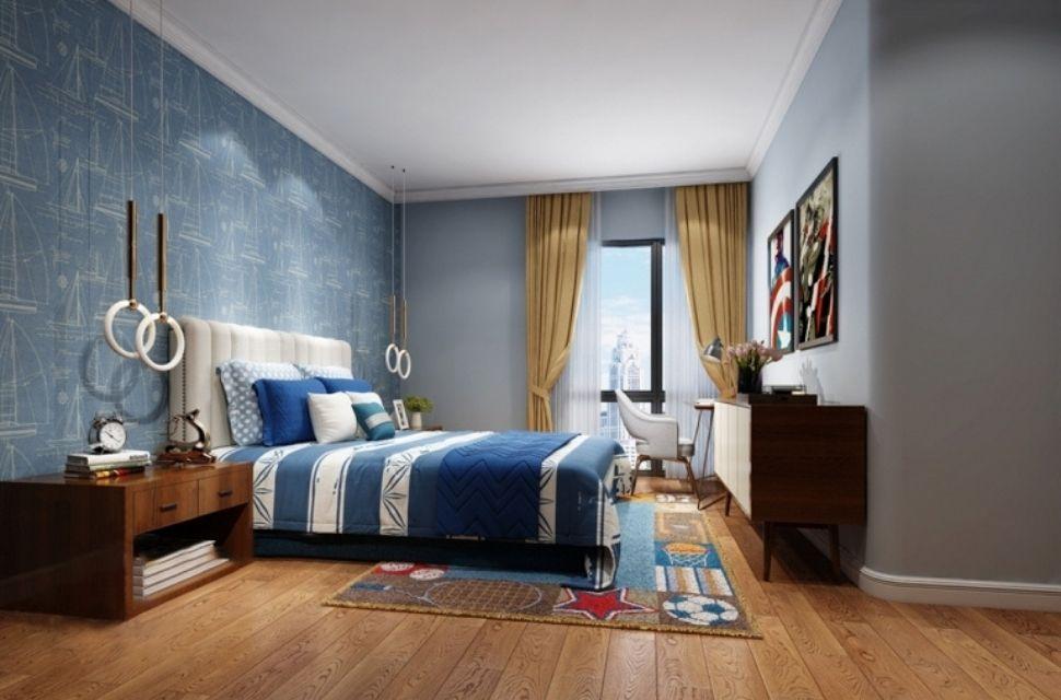 Phòng ngủ có diện tích 10m2 - nội thất phòng ngủ đơn giản hiện đại