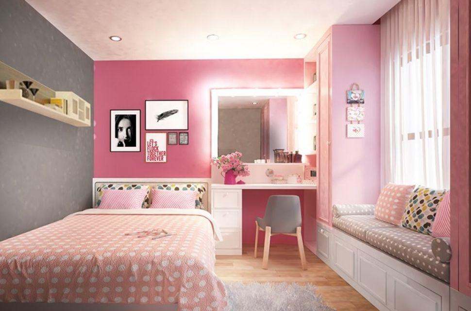 Mẫu 1 - Phòng ngủ có diện tích 15m2.