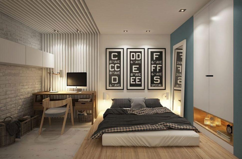 Mẫu 2 - Phòng ngủ có diện tích 15m2.