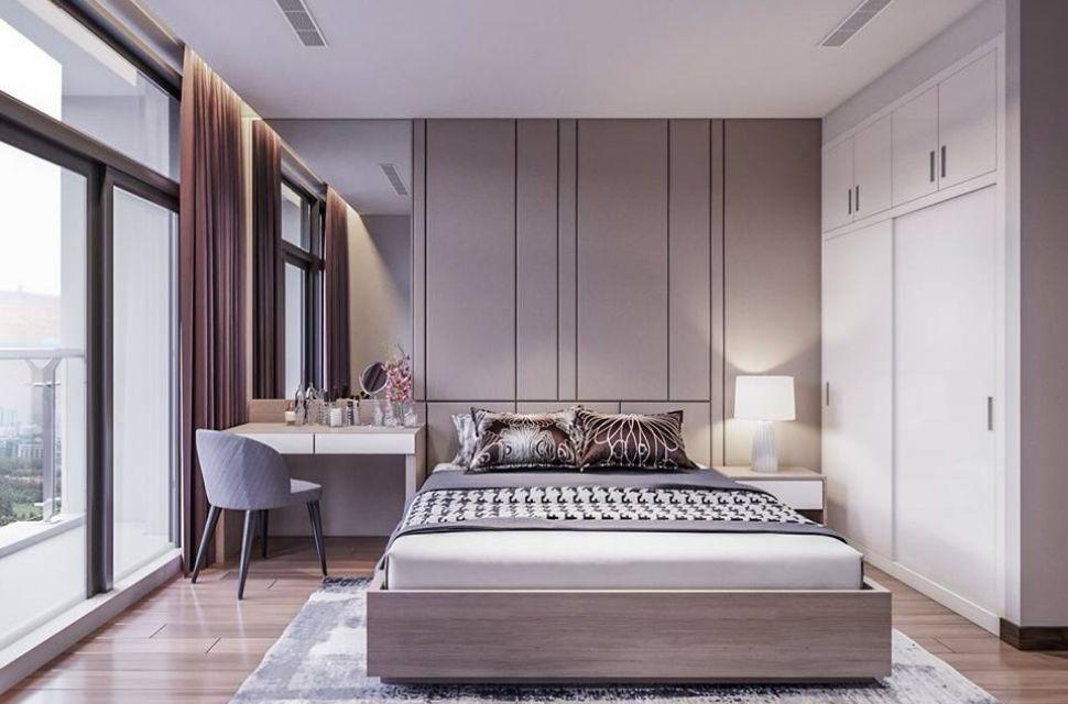 Mẫu 3 - Phòng ngủ có diện tích 15m2.