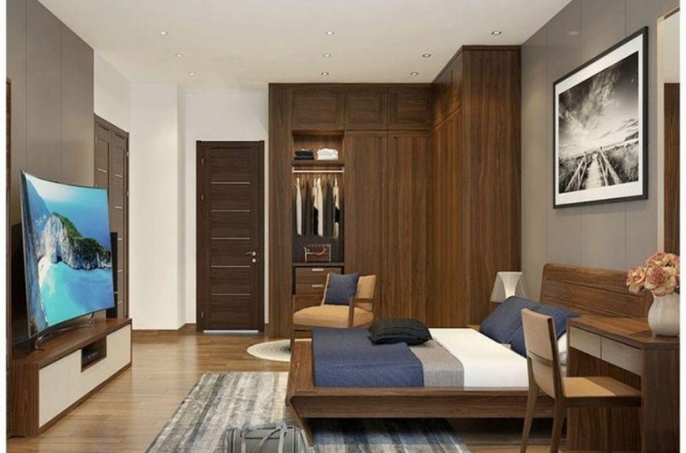 Mẫu 1 - Phòng ngủ có diện tích 16m2.
