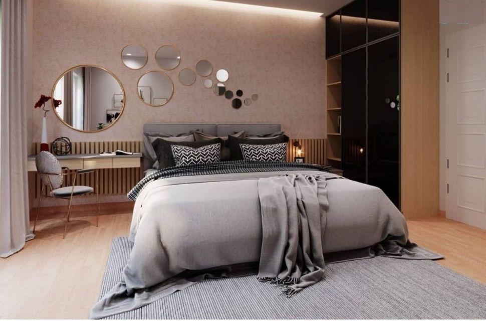 Phòng ngủ có diện tích 17m2
