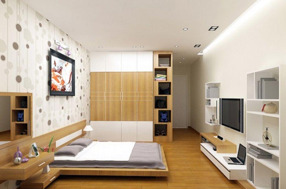Mẫu 1- Phòng ngủ có diện tích 20m2.