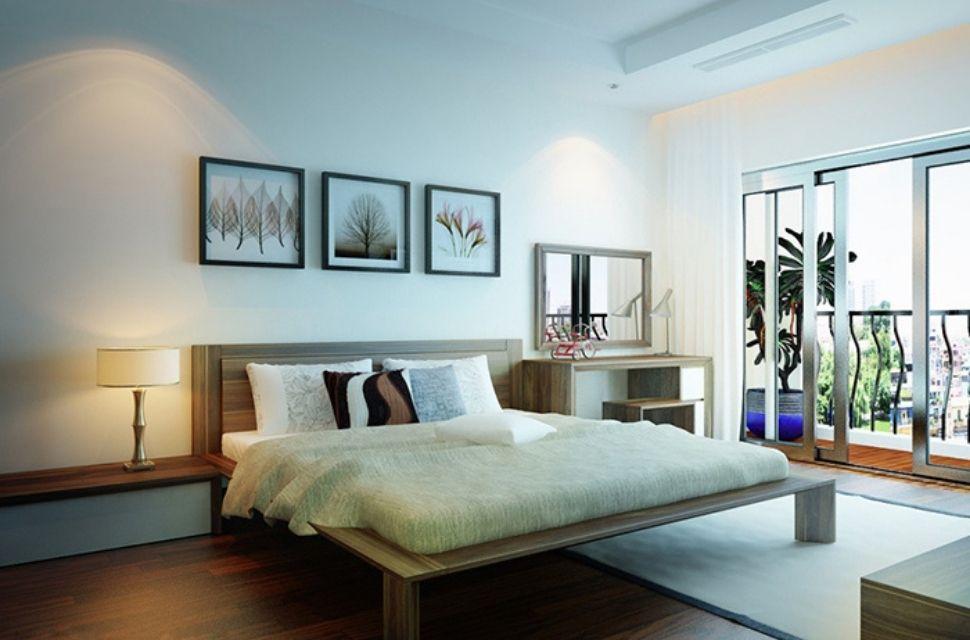 Mẫu 5 - Phòng ngủ có diện tích 20m2.