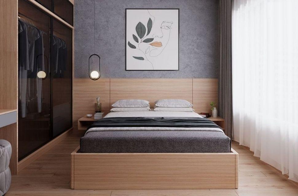 Mẫu 2 - Phòng ngủ có diện tích 26m2.