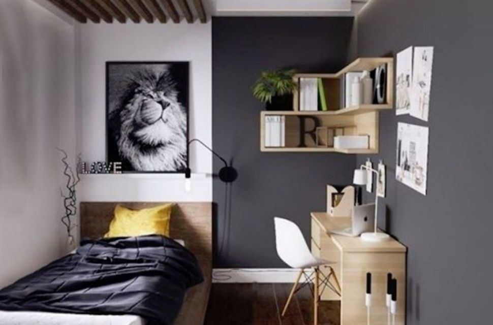 Phòng ngủ có diện tích 6m2 - nội thất phòng ngủ đơn giản hiện đại