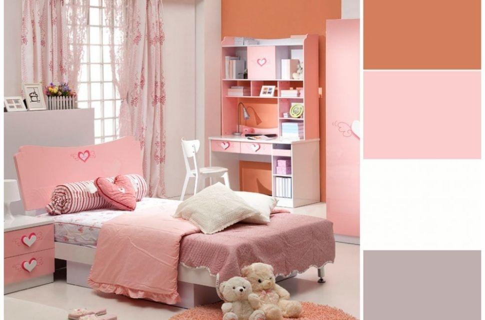 Mẫu 1 - Phòng ngủ cho bé gái, nội thất phòng ngủ đơn giản hiện đại
