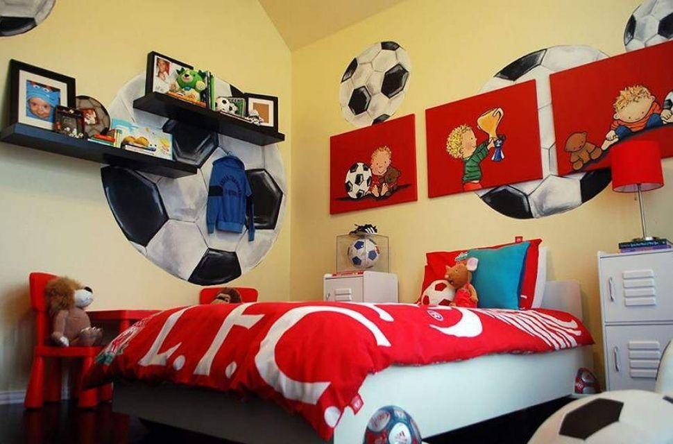 Mẫu 5 - Phòng ngủ cho bé trai, nội thất phòng ngủ đơn giản hiện đại