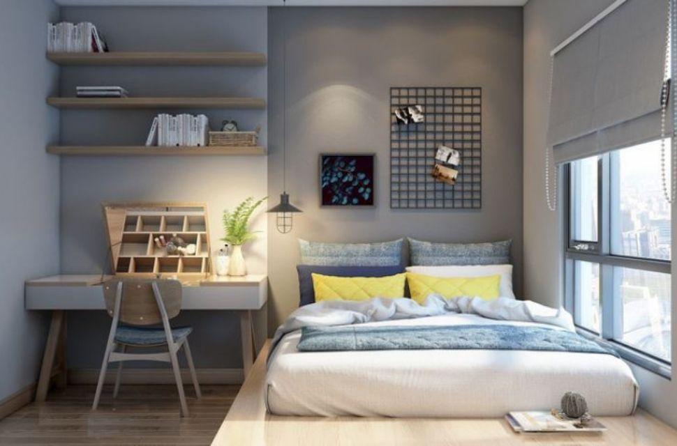 Mẫu 3 - Phòng ngủ cho bé trai, nội thất phòng ngủ đơn giản hiện đại