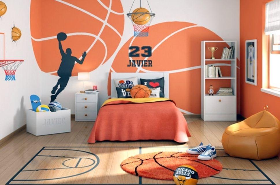 Mẫu 1 - Phòng ngủ cho bé trai, nội thất phòng ngủ đơn giản hiện đại